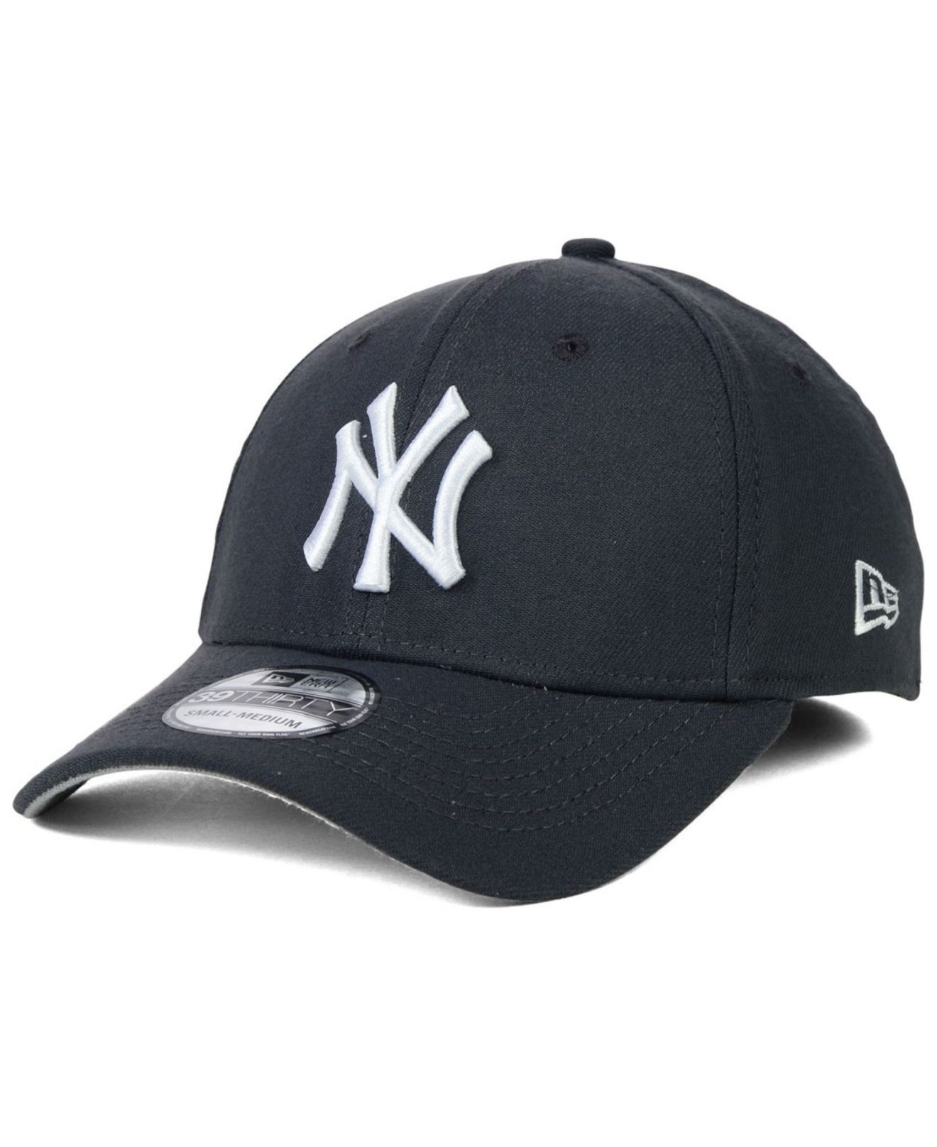 ktz new york yankees fashion 39thirty cap in gray for men. Black Bedroom Furniture Sets. Home Design Ideas
