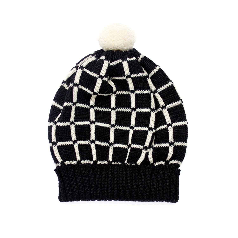 Margot & me Knit Hat Lucy In Black in Black Lyst
