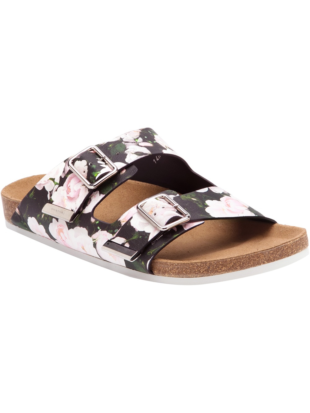 Givenchy Double Buckle Sandal in Floral for Men ...