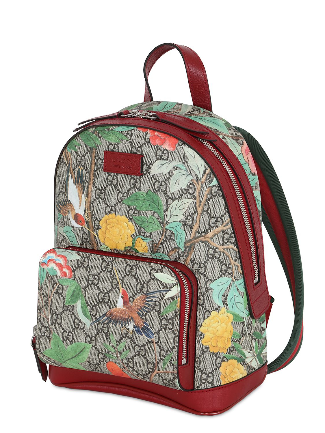 c21ffe2d3655 Gucci Tian GG Supreme Leather Backpack for Men - Lyst