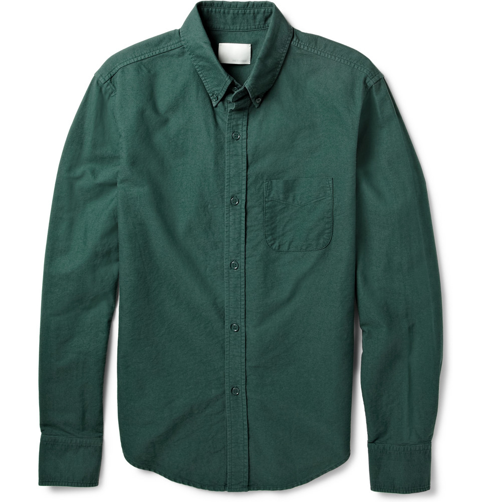 The Green Oxford Shirt is a must-see from our latest Men's collection and is available to buy online at GANT USA.