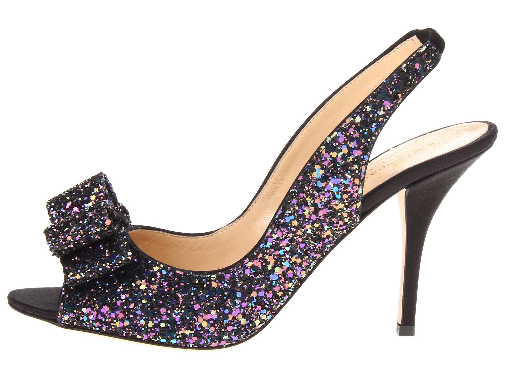 kate spade new york charm heel in black lyst
