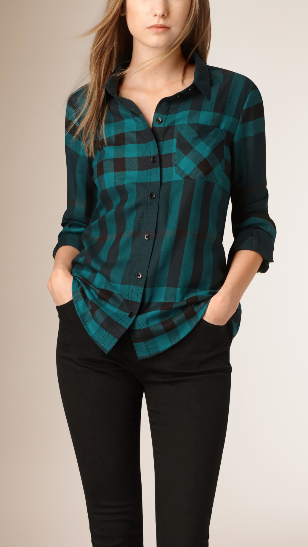 Women S Buffalo Check Shirt