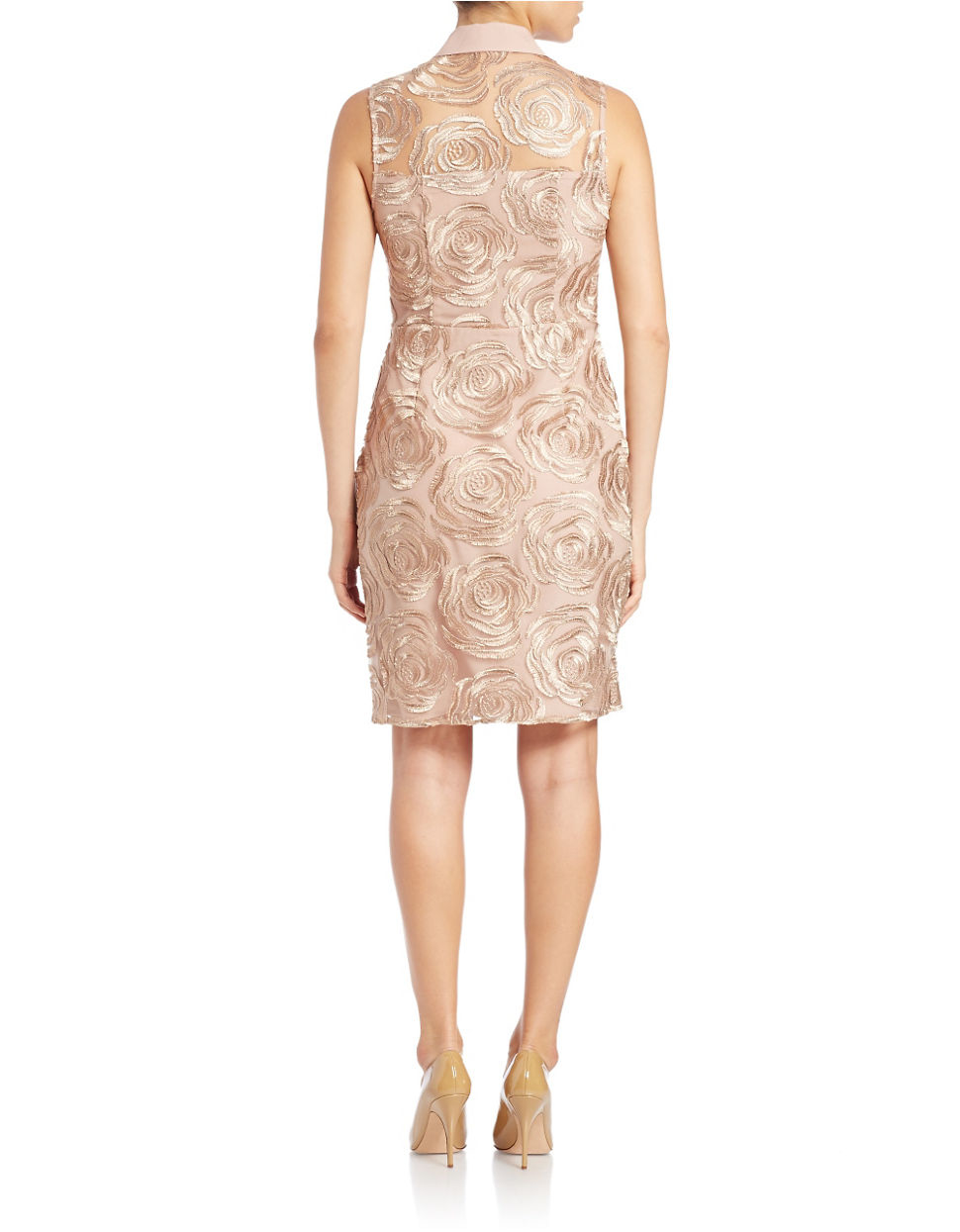 Rachel Rachel Roy Floral Sheath Dress In Pink Lyst