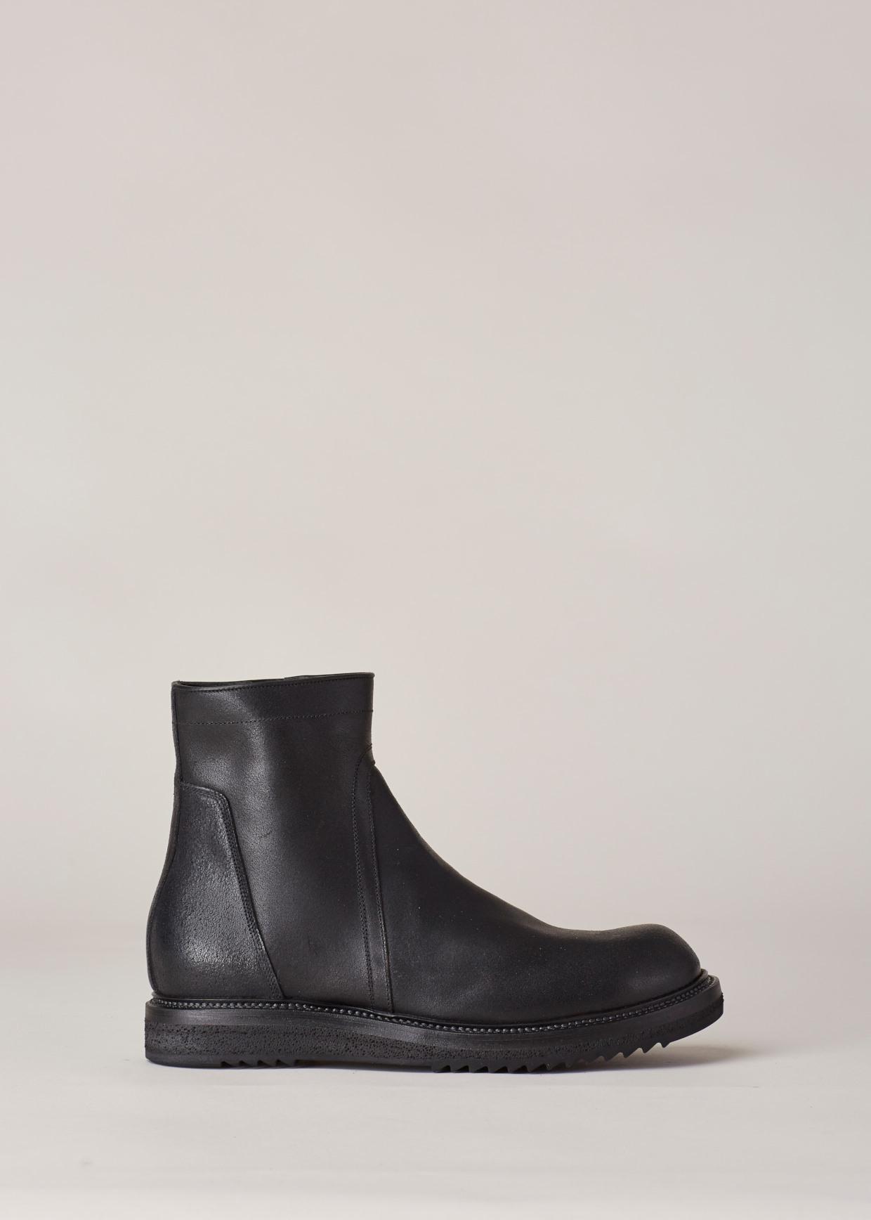 Rick Owens Black Creeper Chelsea Boots kqDuTpxS