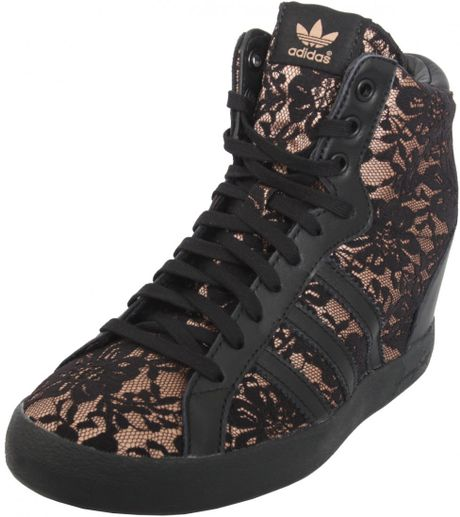 Adidas Wedge Trainers Adidas Lace Wedge Sneakers