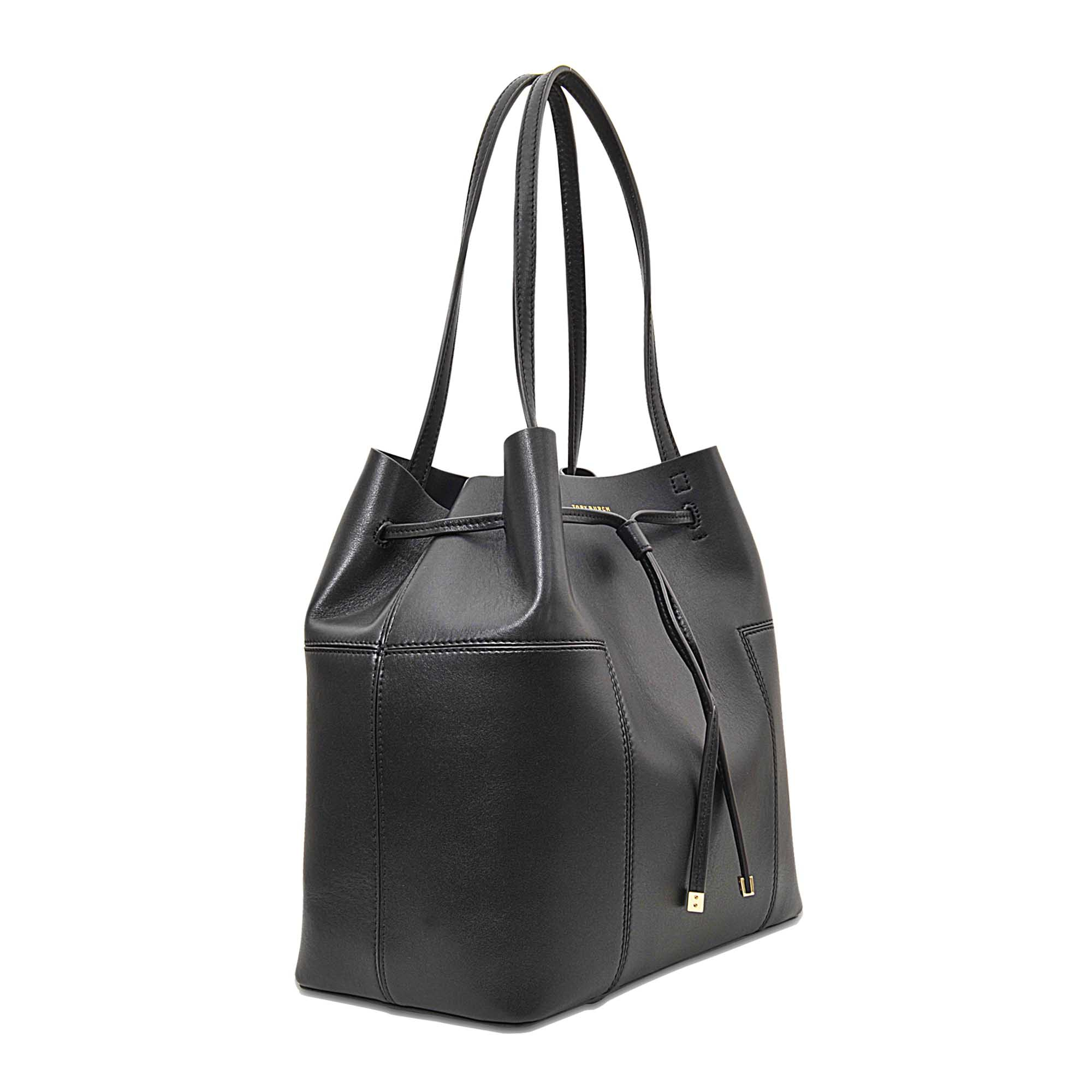 b38e07f23d3b ... greece lyst tory burch block t bucket bag in black 9b198 2d817 ...