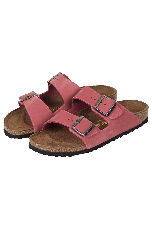 Lyst Topshop Birkenstock Arizona Sandals In Pink
