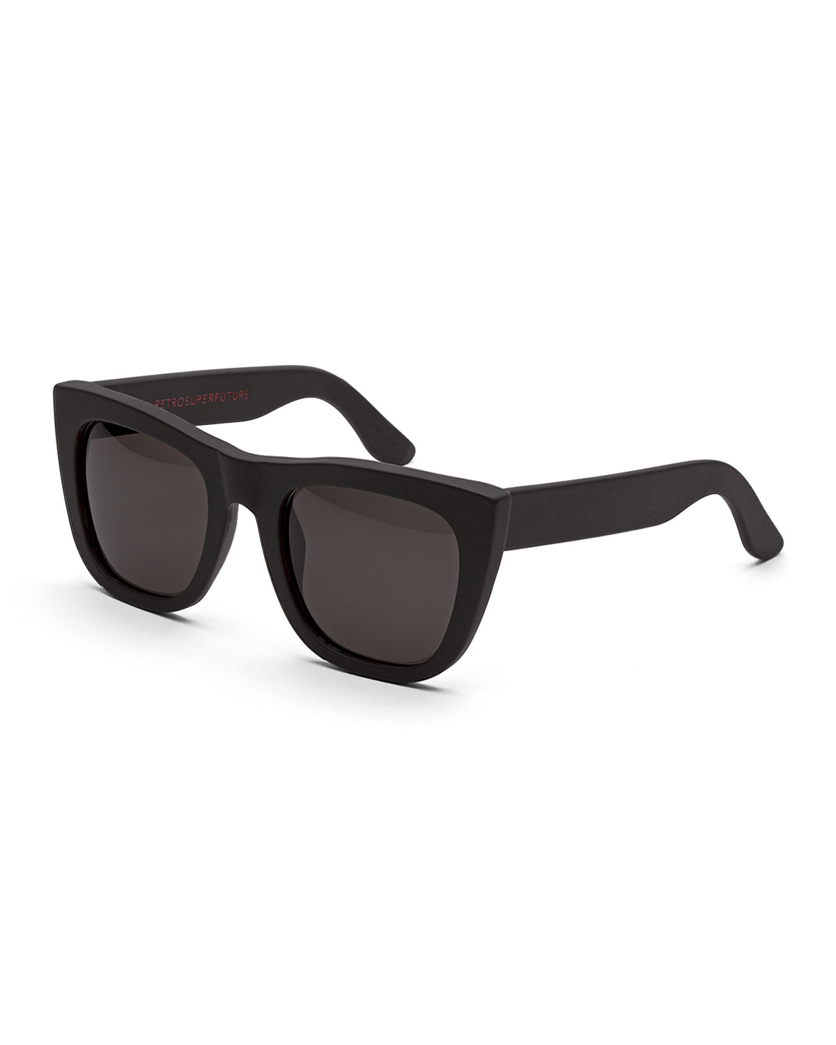 Thick Frame Glasses Black : Retrosuperfuture Gals Thick-frame Sunglasses in Black Lyst