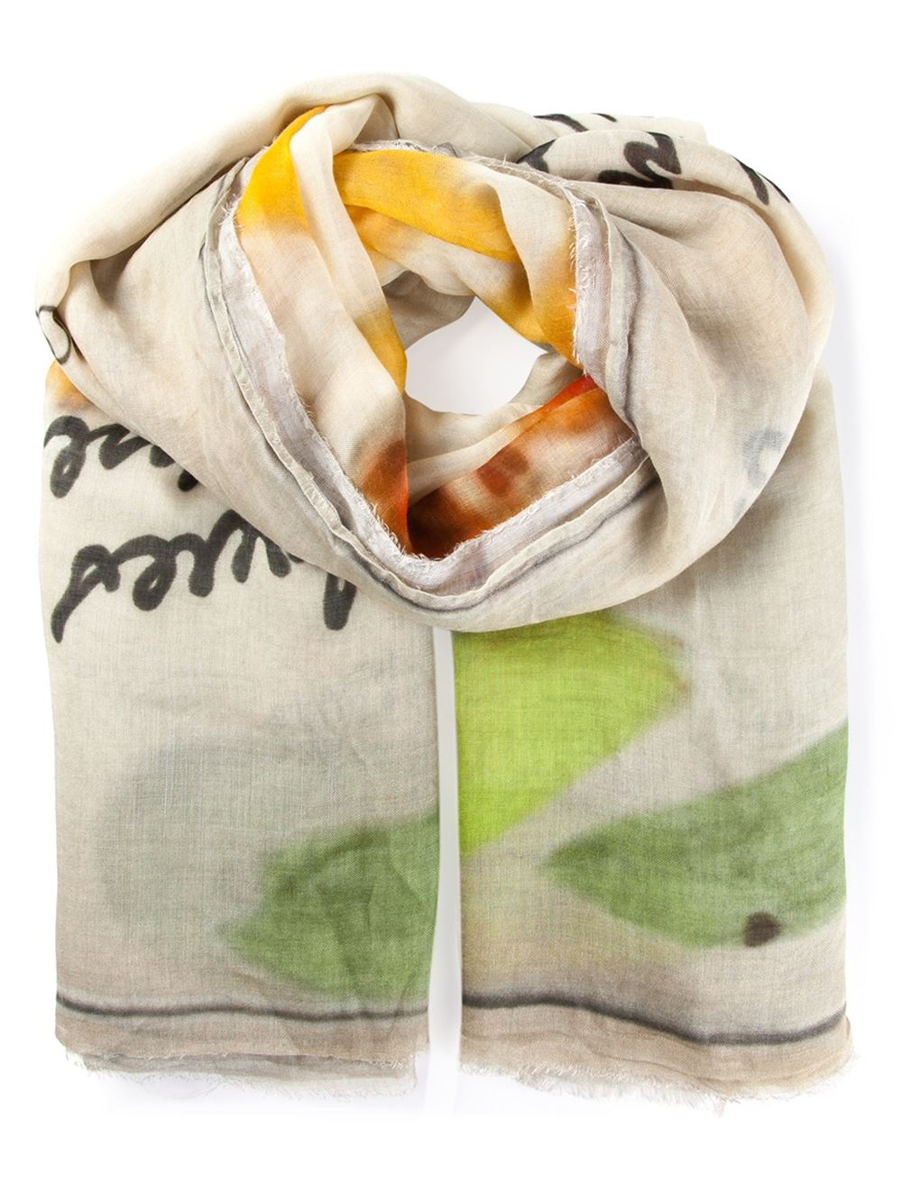 Faliero Sarti love print scarf Great Deals Sale Online Cheap High Quality Free Shipping Genuine Hot Sale Cheap Online 8hgFaf