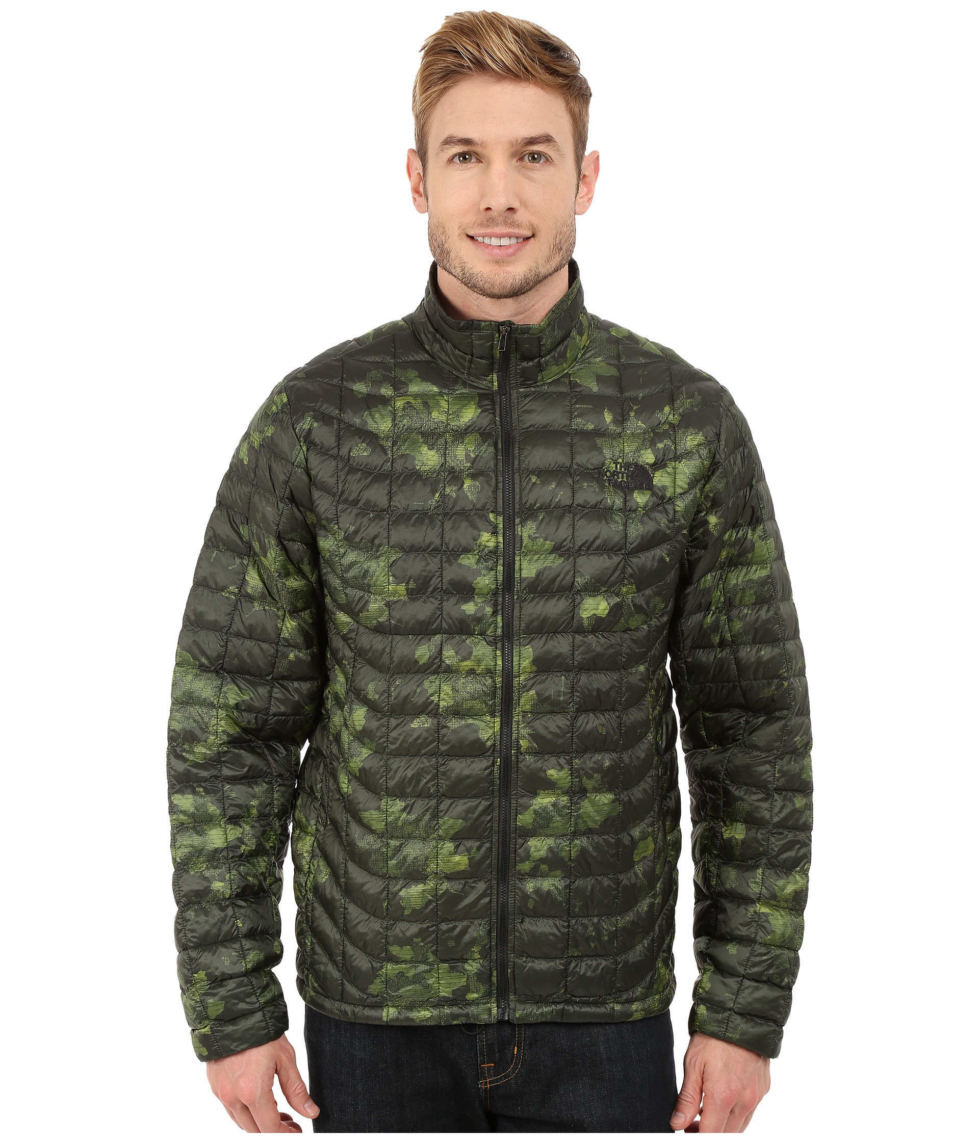 302bad05a8 ... canada the north face thermoball full zip jacket for men lyst 53fb9  a032b