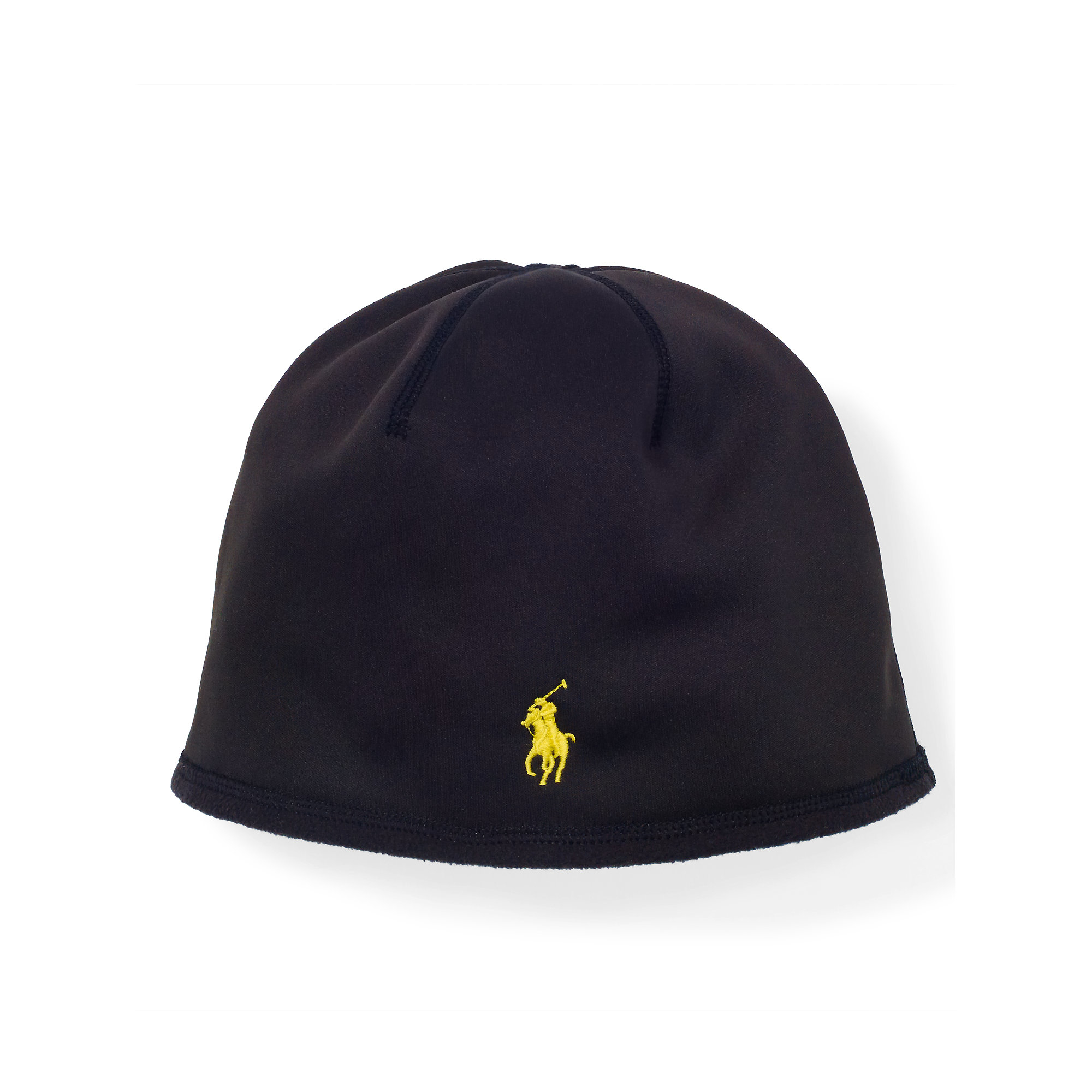 Lyst - Polo Ralph Lauren Fleece Skull Cap in Black for Men ee31c77adba