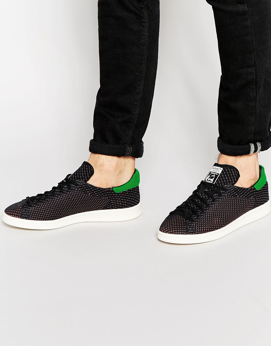 adidas knit trainers for men