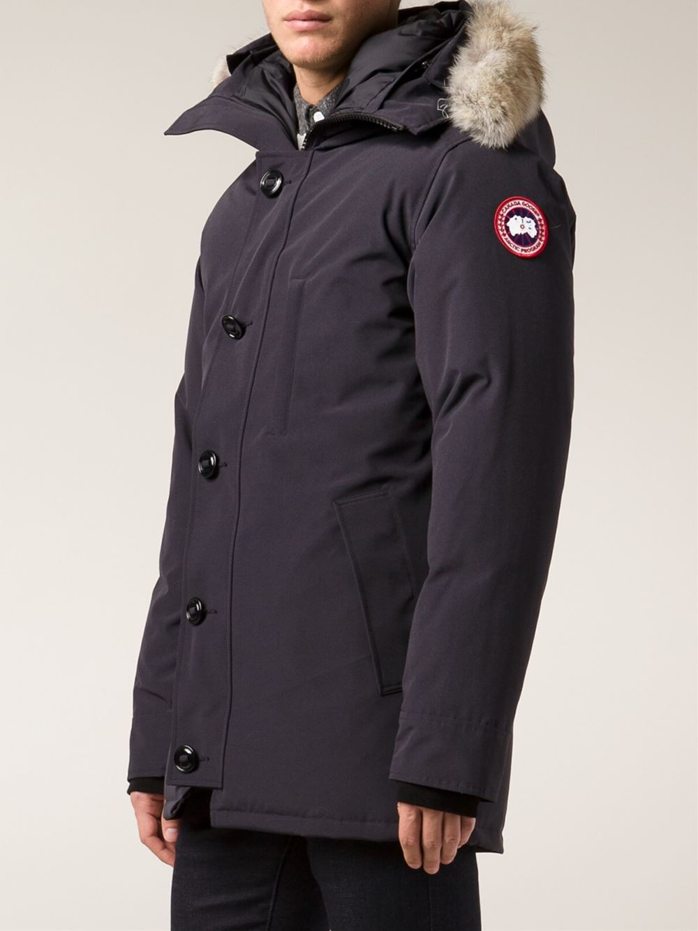 canada goose chateau parka navy