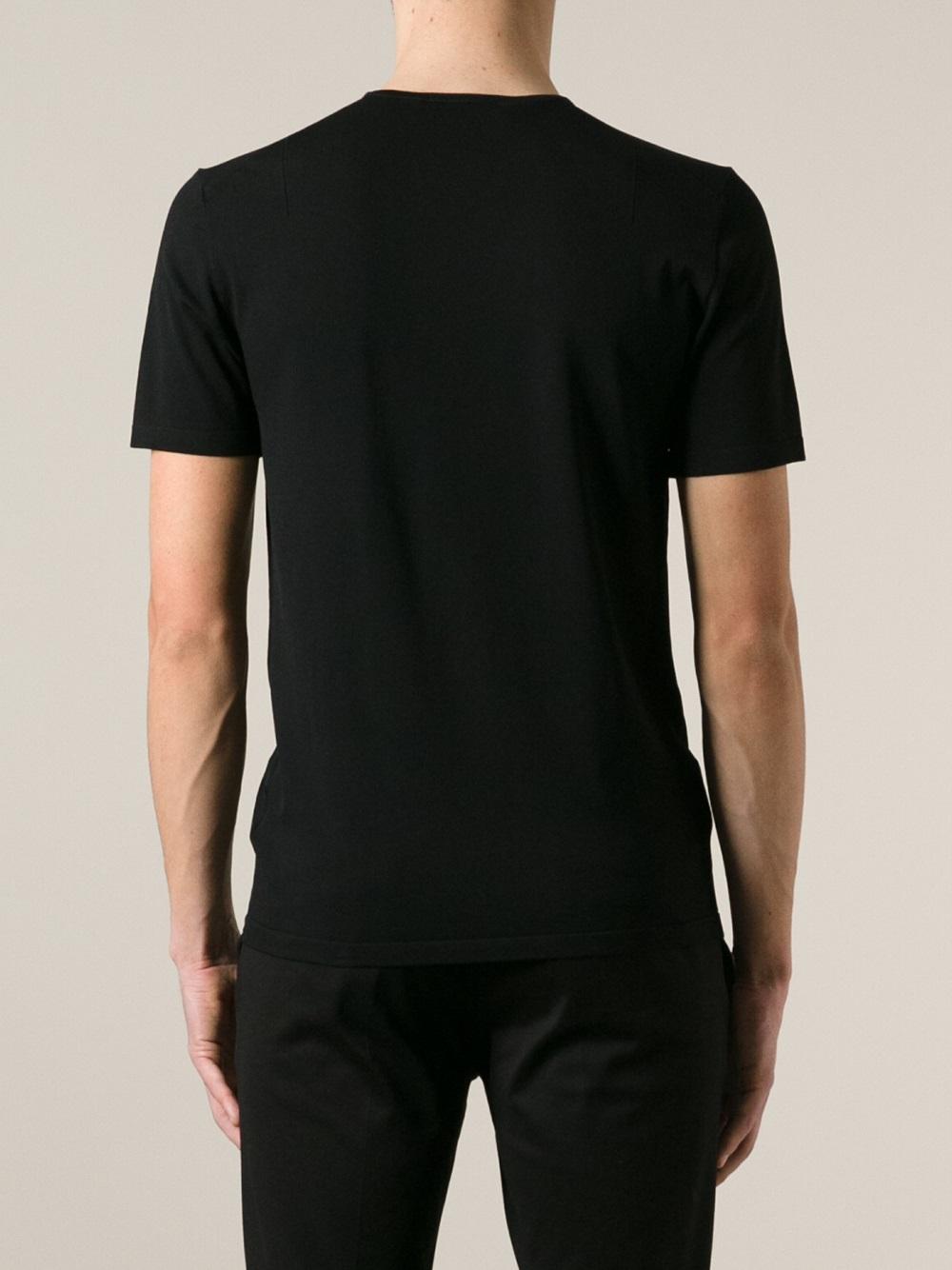 Plain black t shirt quality - Gallery