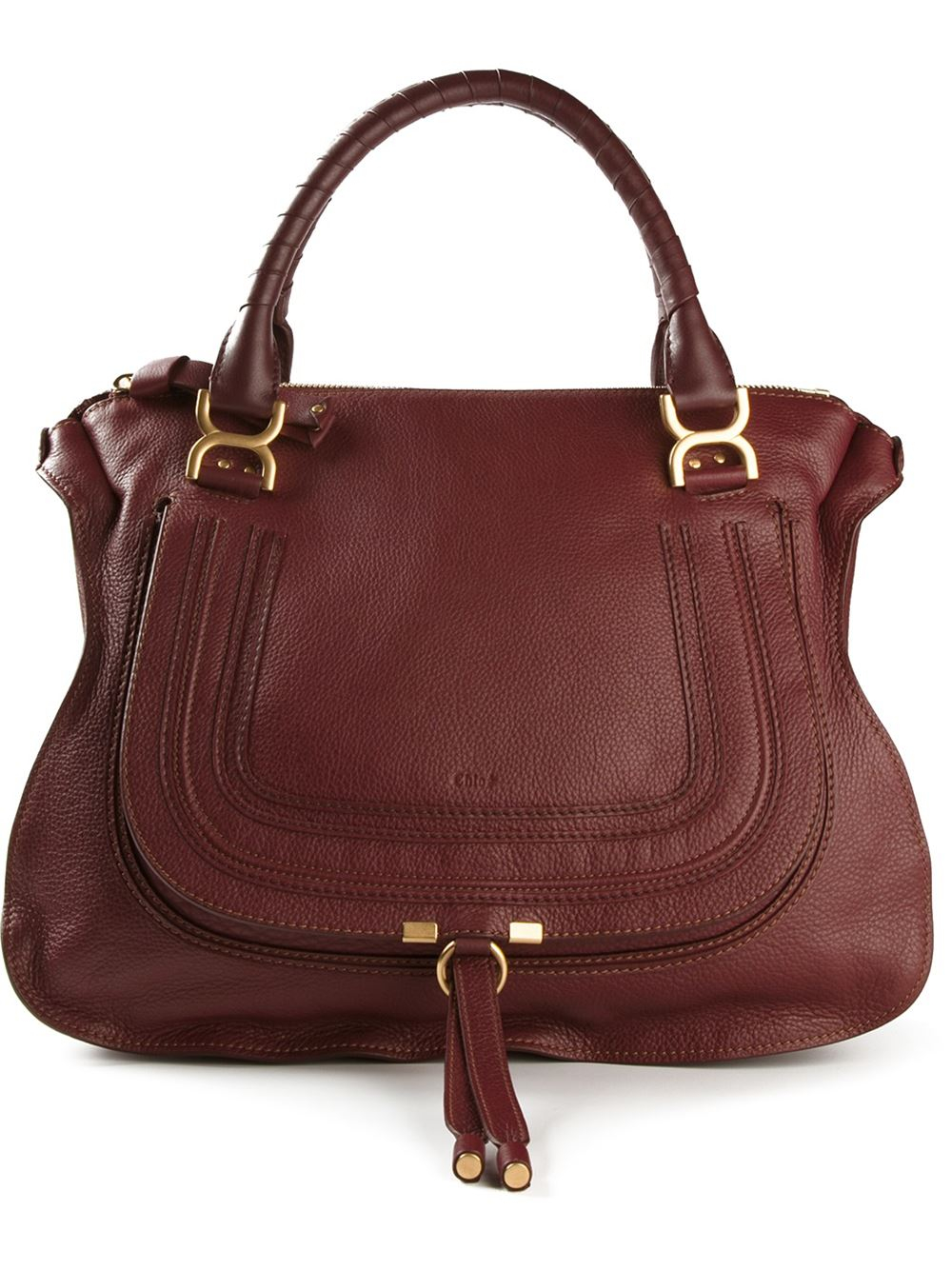 Chlo¨¦ Large Marcie Tote in Red | Lyst