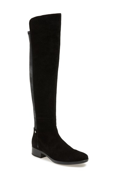 21dc24cd9b66e Geox 'felicity' Over The Knee Boot in Black - Lyst