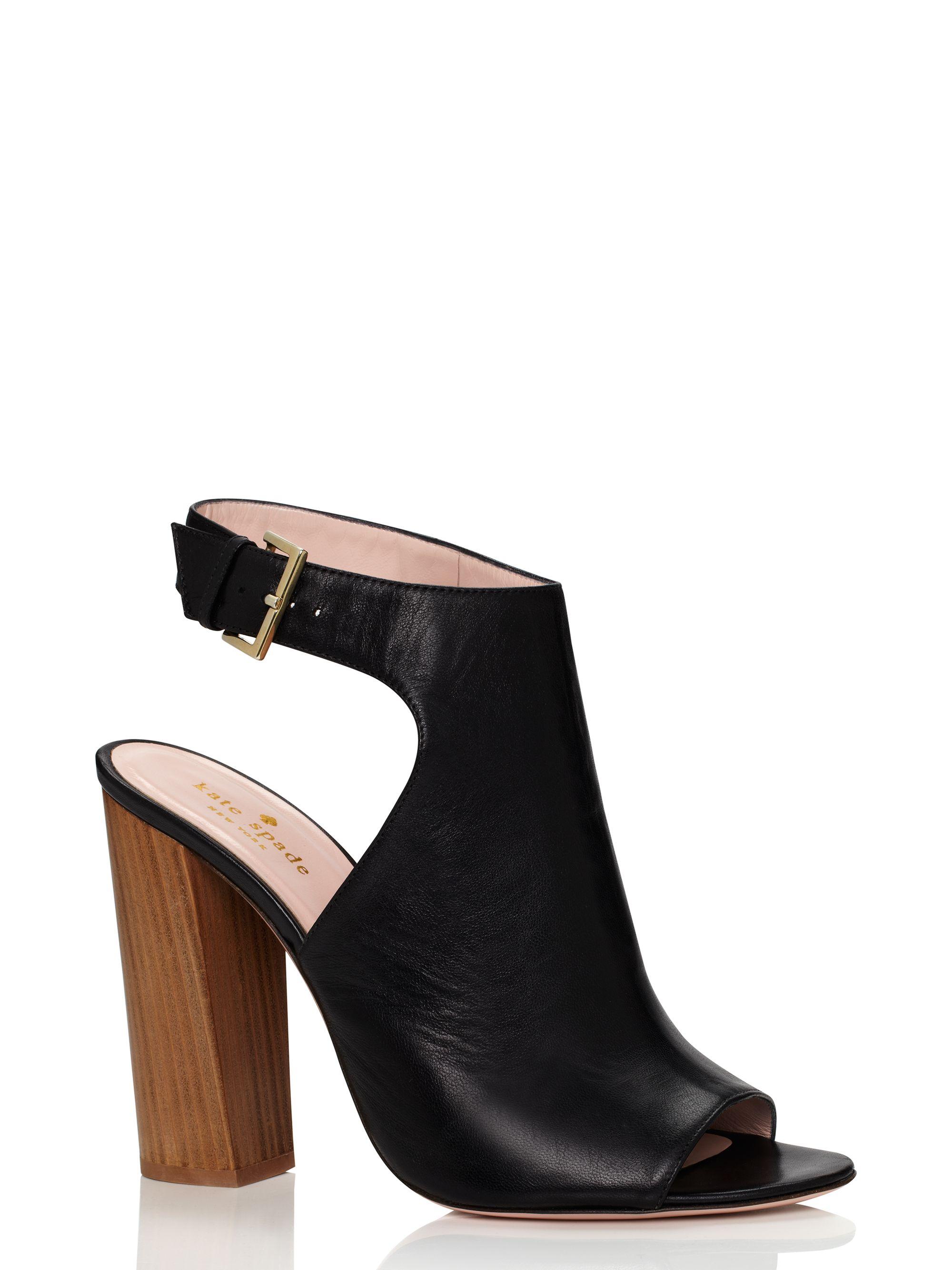 Kate Spade Ingrada Heels in Black - Lyst