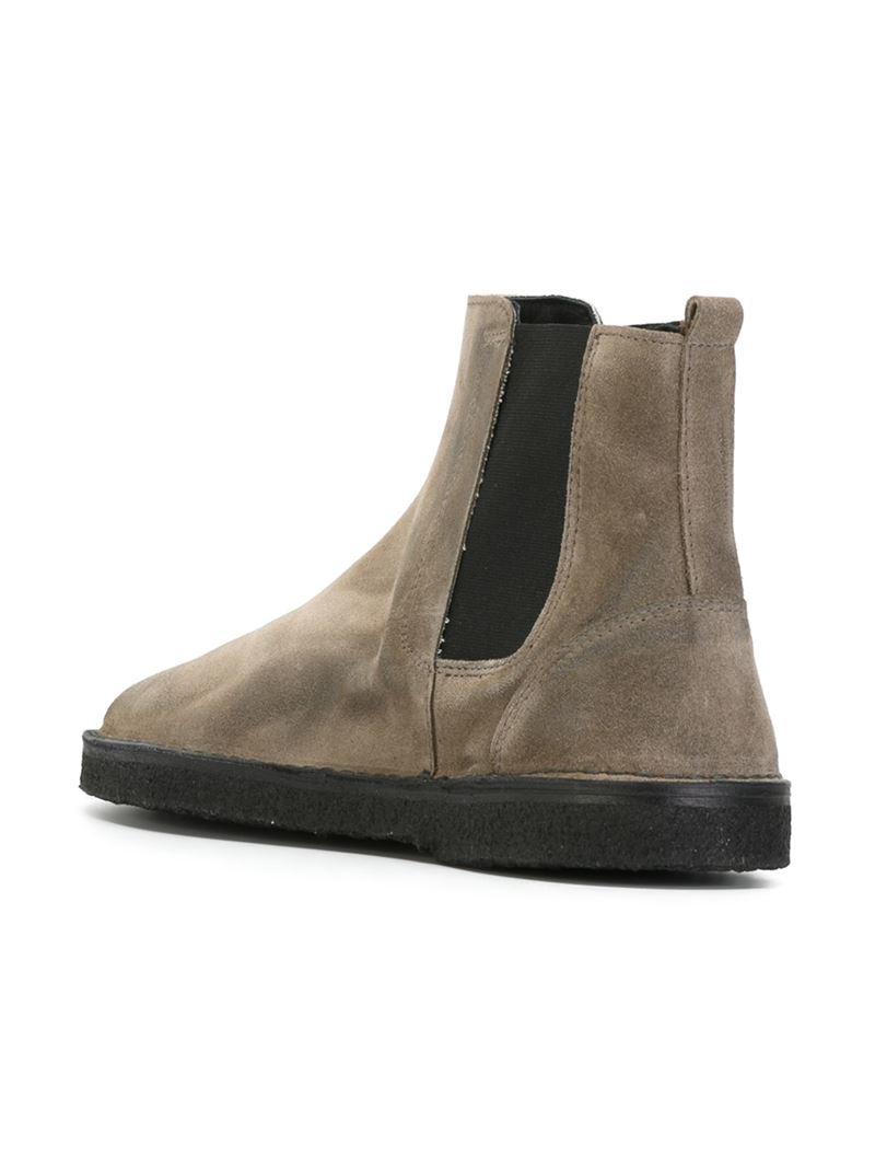 7f5da999e4b482 Golden Goose Deluxe Brand 'Portman' Ankle Boots in Gray for Men - Lyst