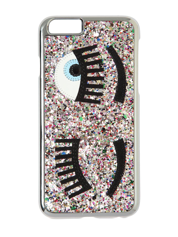 newest 6d703 a2a0d Chiara Ferragni Metallic 'flirting' Iphone 6 Case