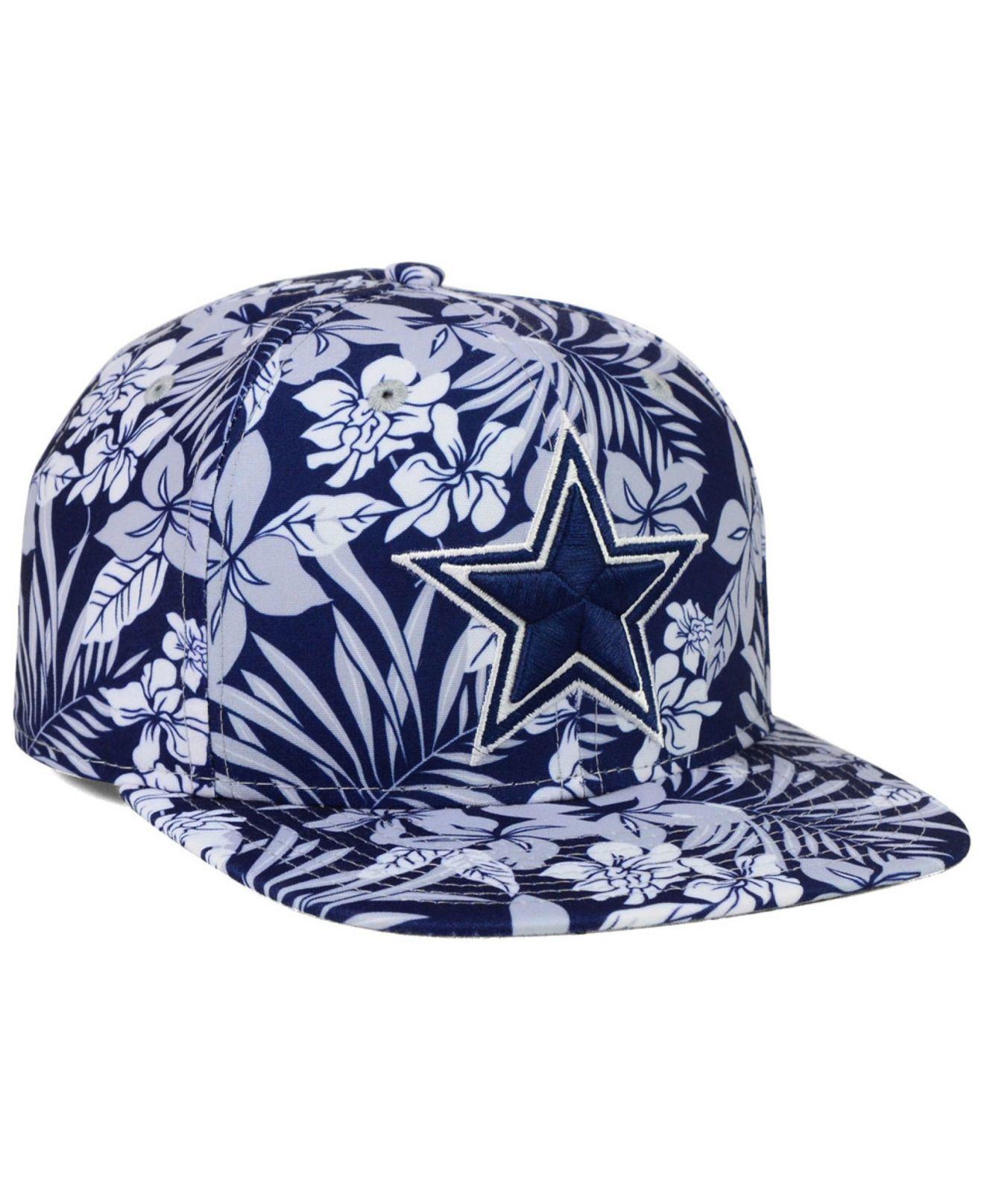 Lyst Ktz Dallas Cowboys Wowie Snapback Cap In Gray For Men