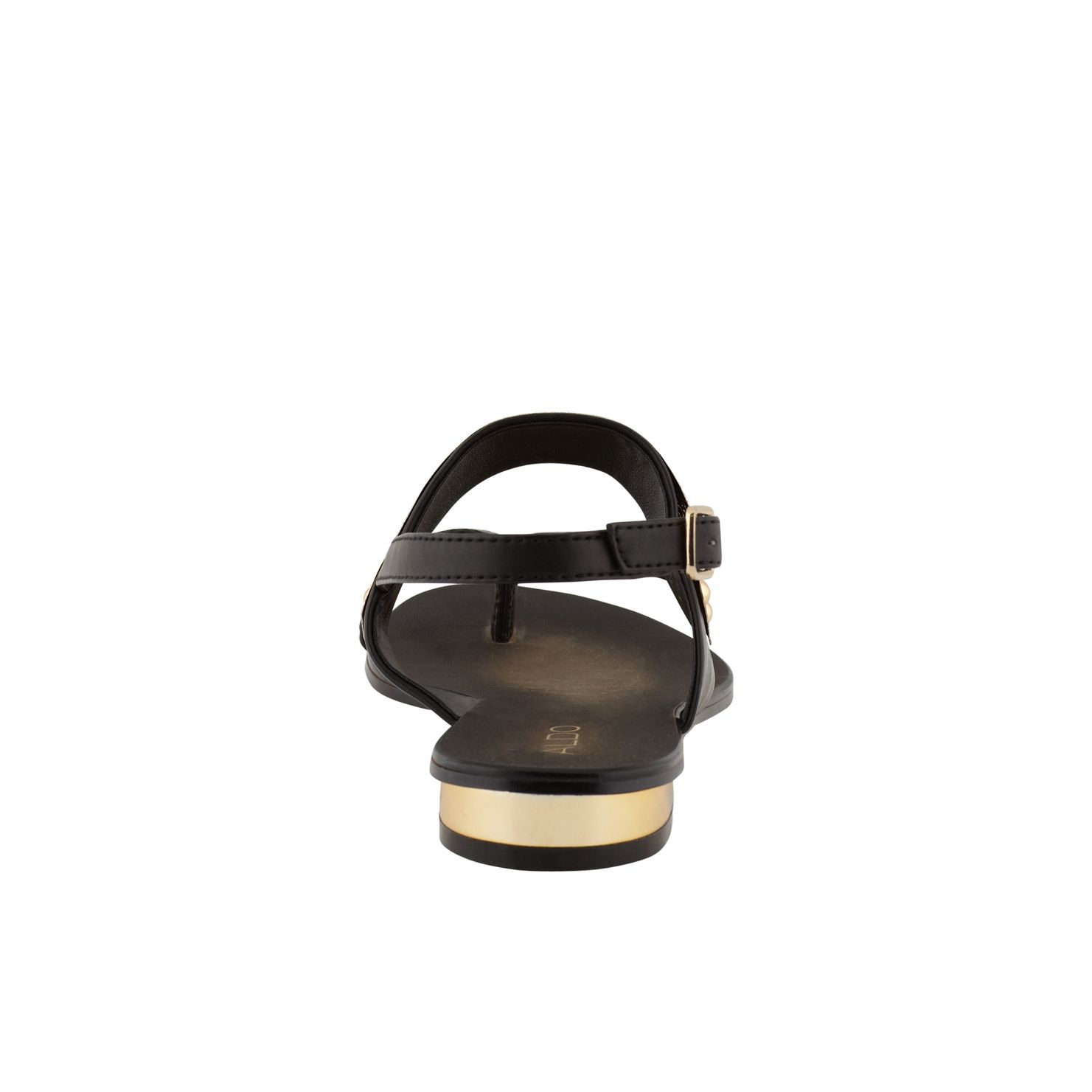 Dolea Gold Plate Detail Sandals