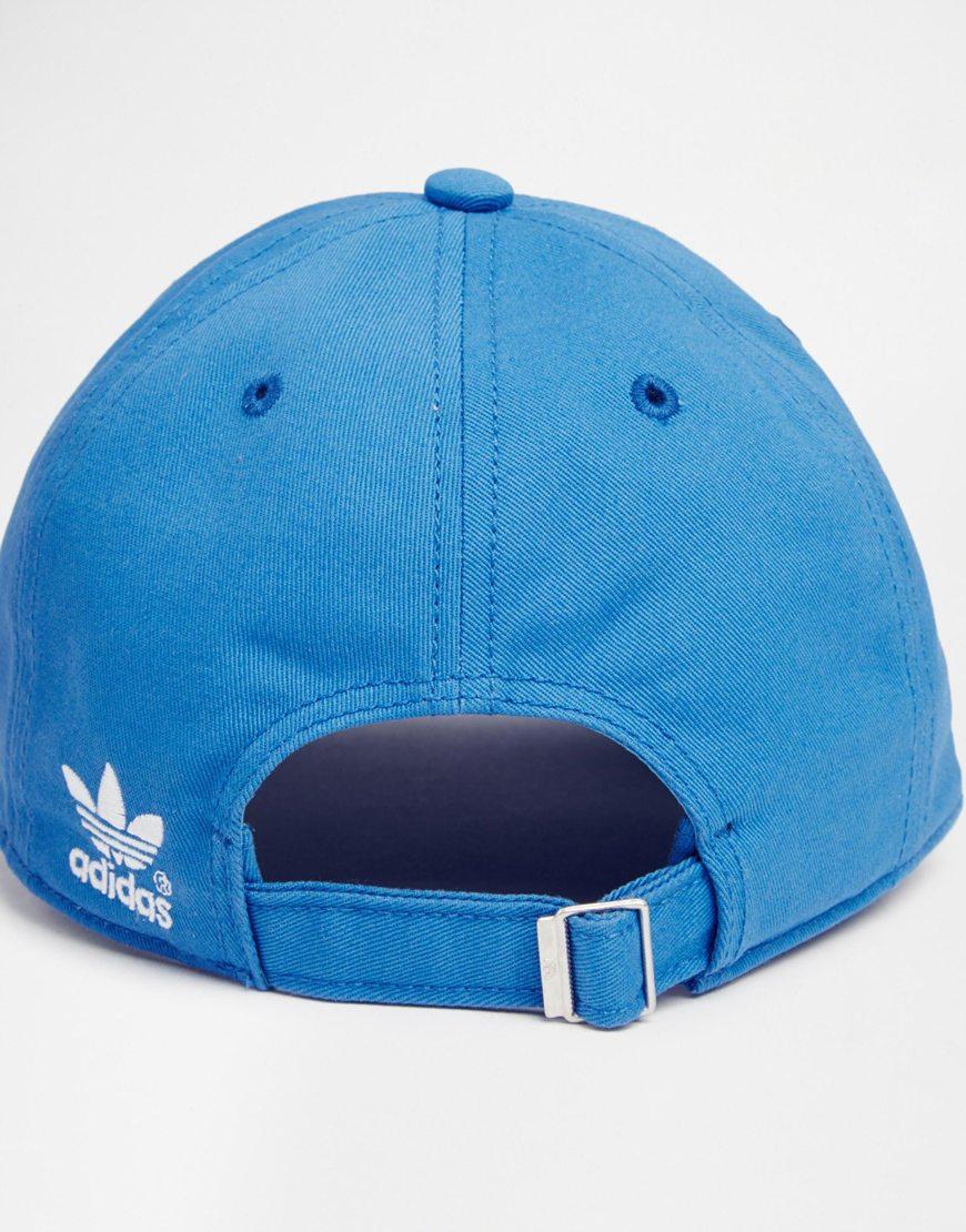 Lyst - adidas Originals Classic Adjustable Cap in Blue for Men 089acaea7c6c