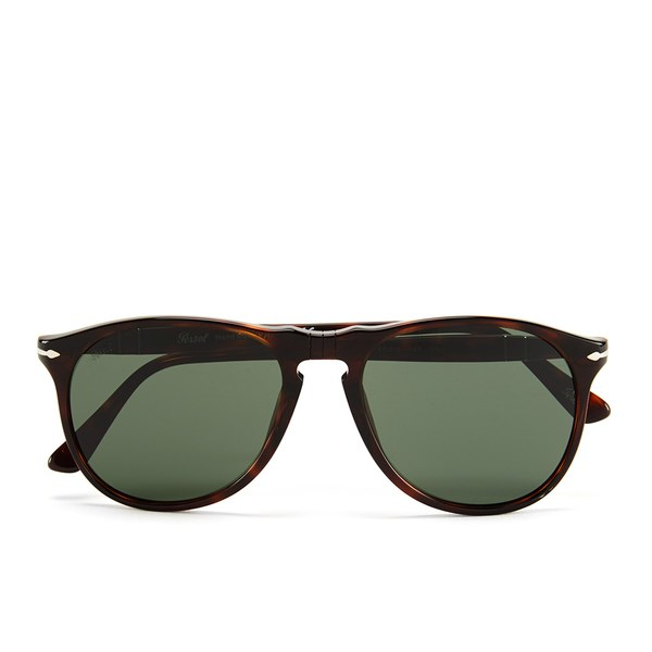 Persol Thin D-frame Men's Sunglasses in Natural (Brown) for Men
