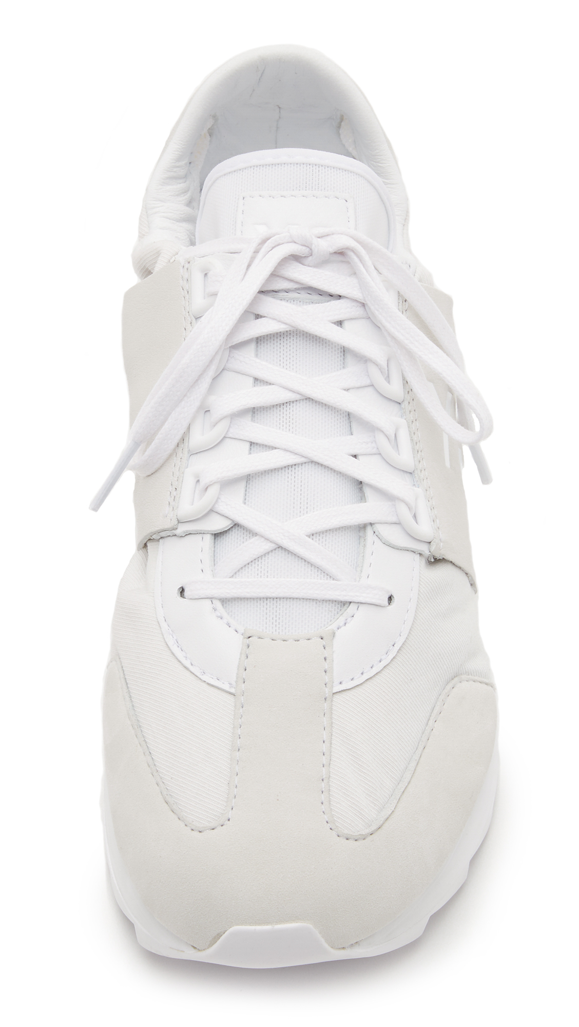 a56ea933fb818 Lyst - Y-3 Rhita Sport Sneakers in White