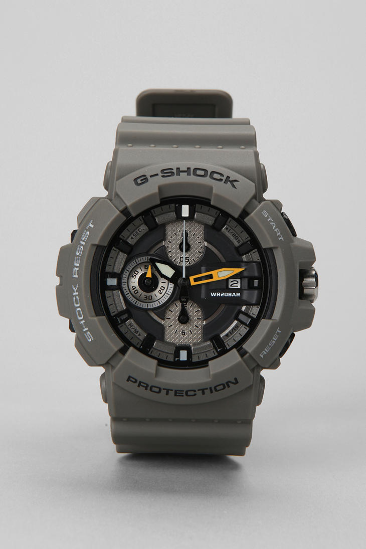 lyst gshock gac100 watch in gray for men