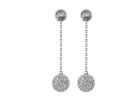 158372fe2 Michael Kors Pave Disc Drop Earrings - Best All Earring Photos ...