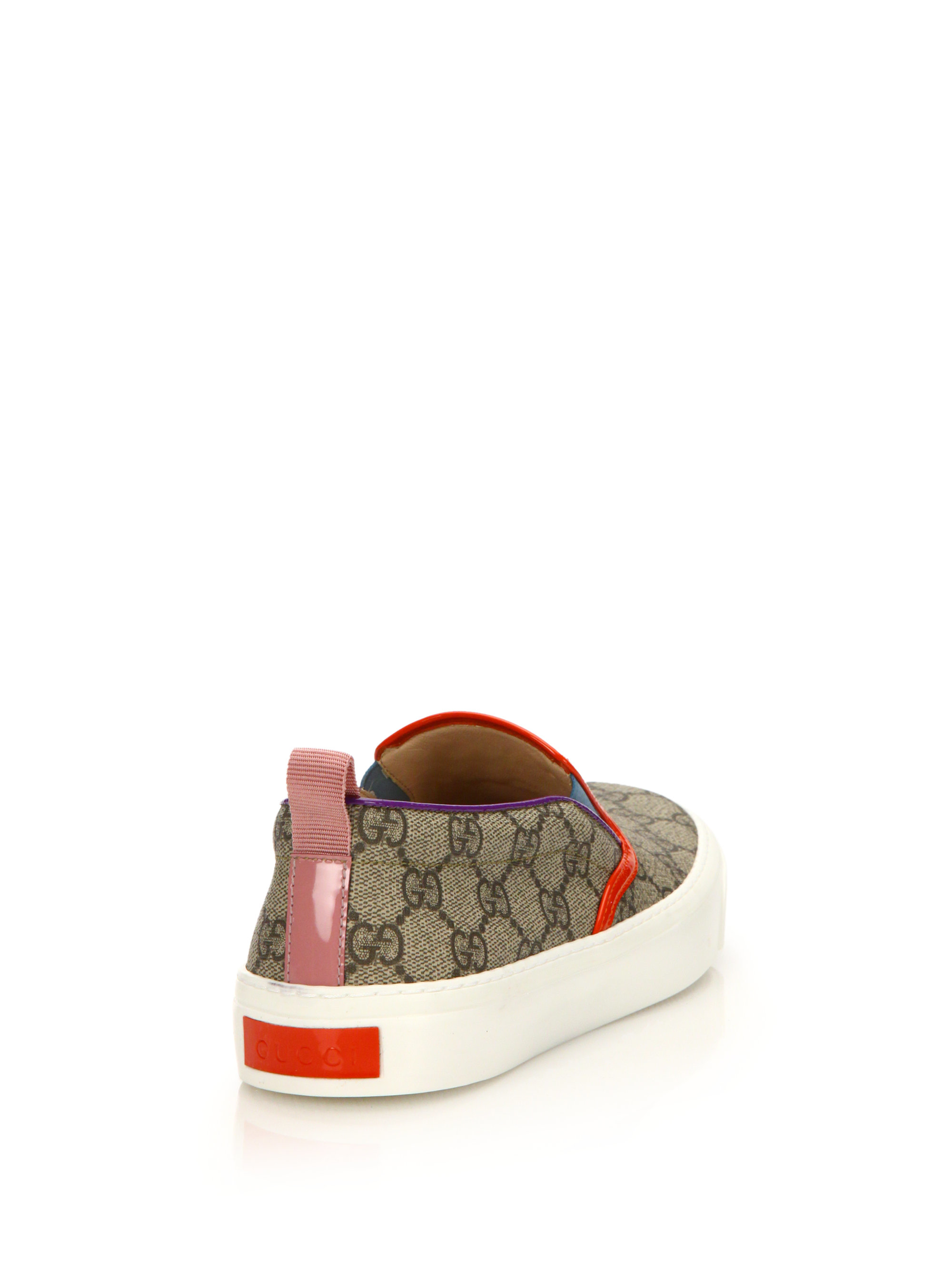Gucci Board Gg Canvas Logo Skate Shoes