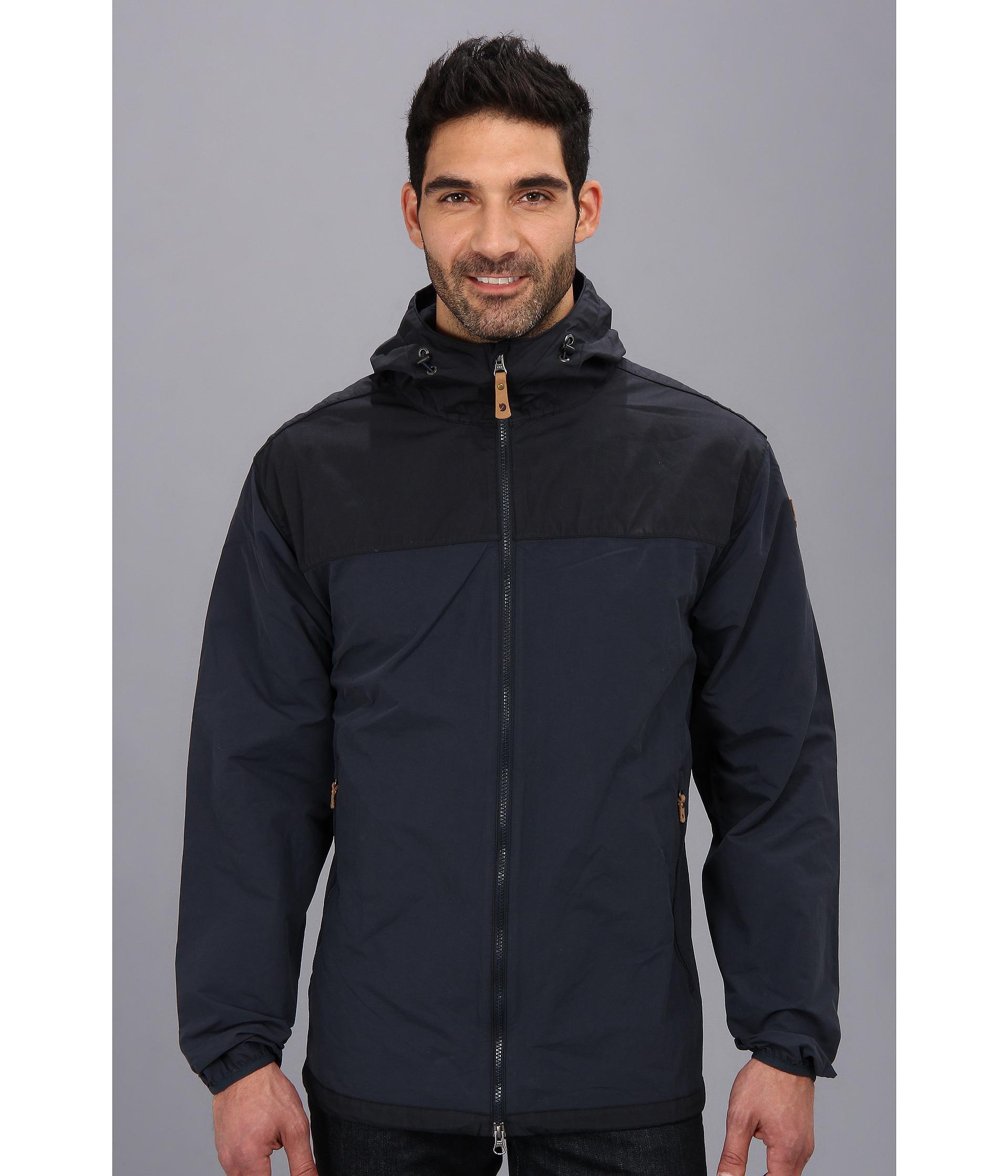 a66589082 Fjallraven Blue Abisko Hybrid Jacket for men