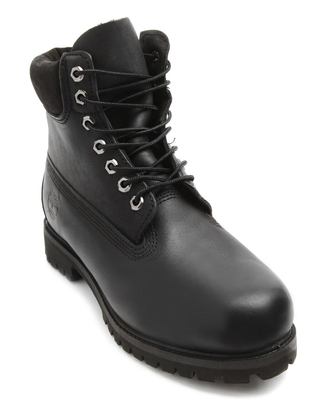 timberland 6 inch premium black boots in black for lyst
