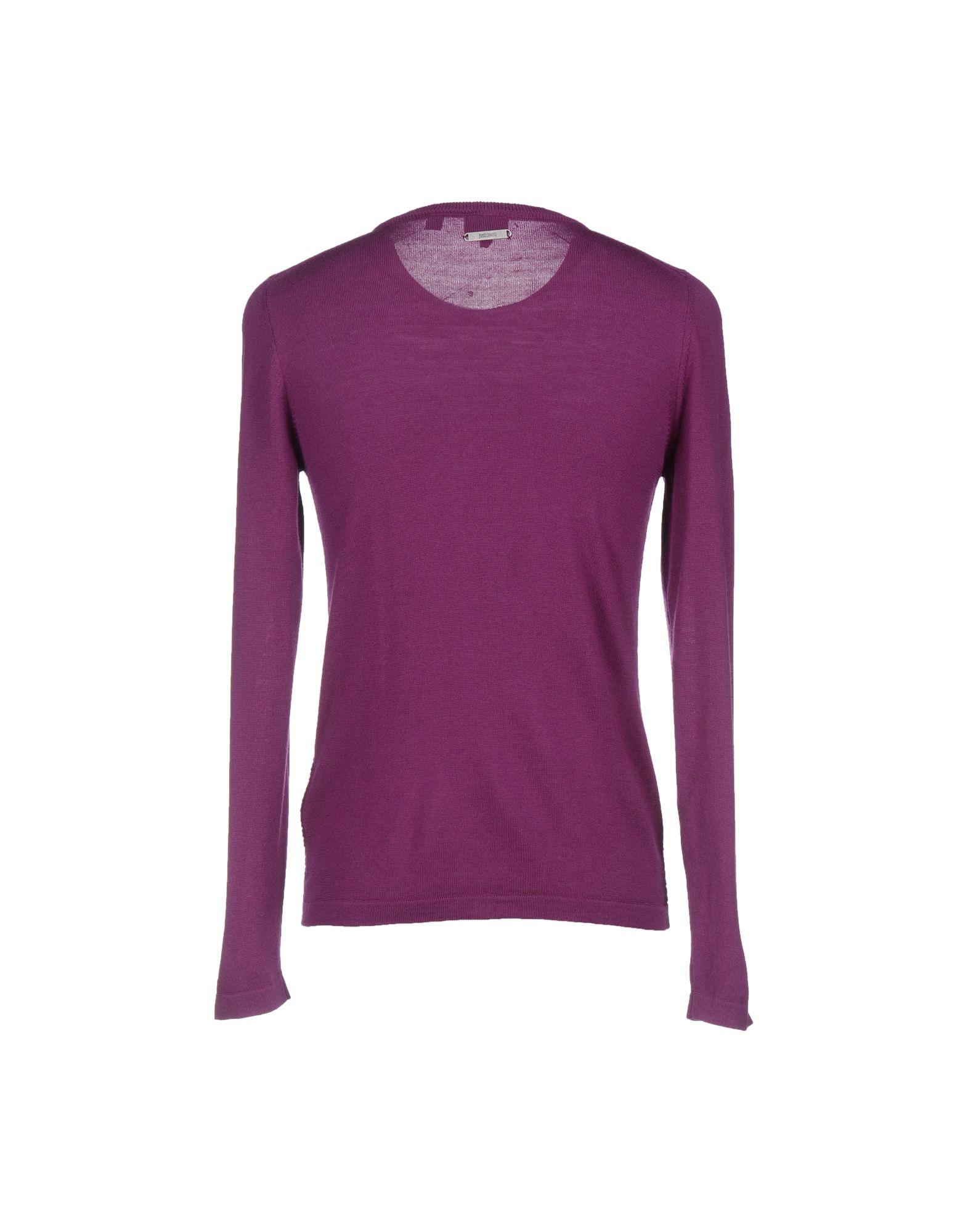 just cavalli jumper in purple for men lyst. Black Bedroom Furniture Sets. Home Design Ideas