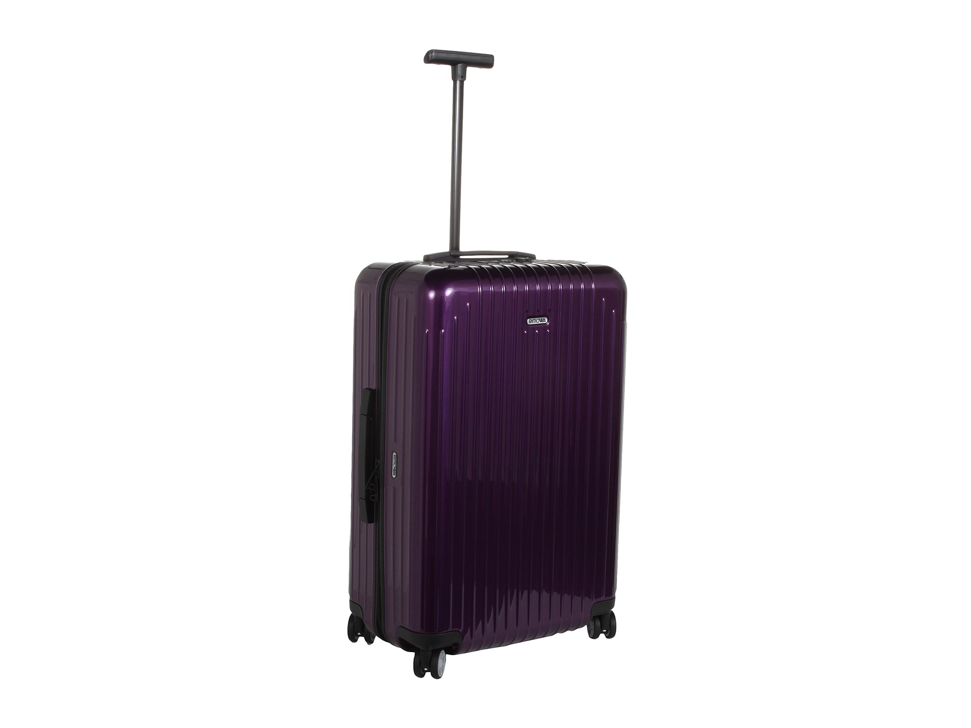 rimowa salsa air 26 multiwheel in purple lyst. Black Bedroom Furniture Sets. Home Design Ideas