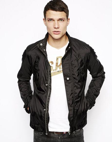 g star raw g star overshirt jacket benin myrow nylon flap. Black Bedroom Furniture Sets. Home Design Ideas