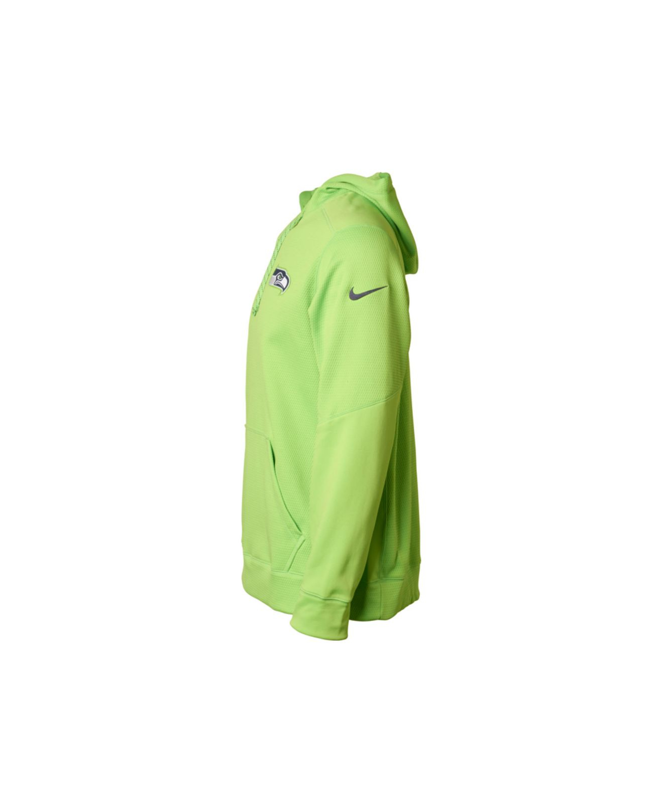 the best attitude ac20c acd95 Nike Green Men'S Seattle Seahawks Ko Chain Hoodie for men