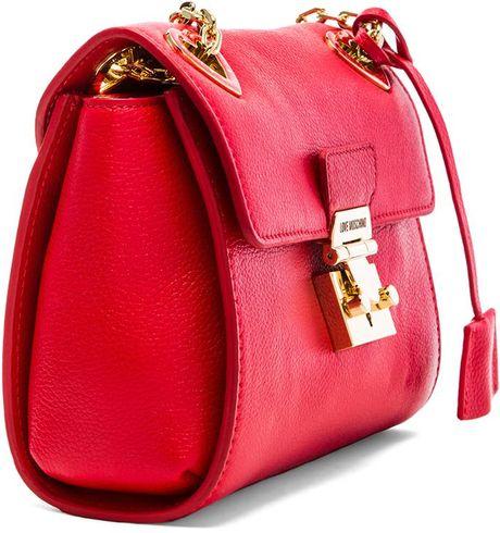 Moschino Milano Bag Bag in Red Love Moschino