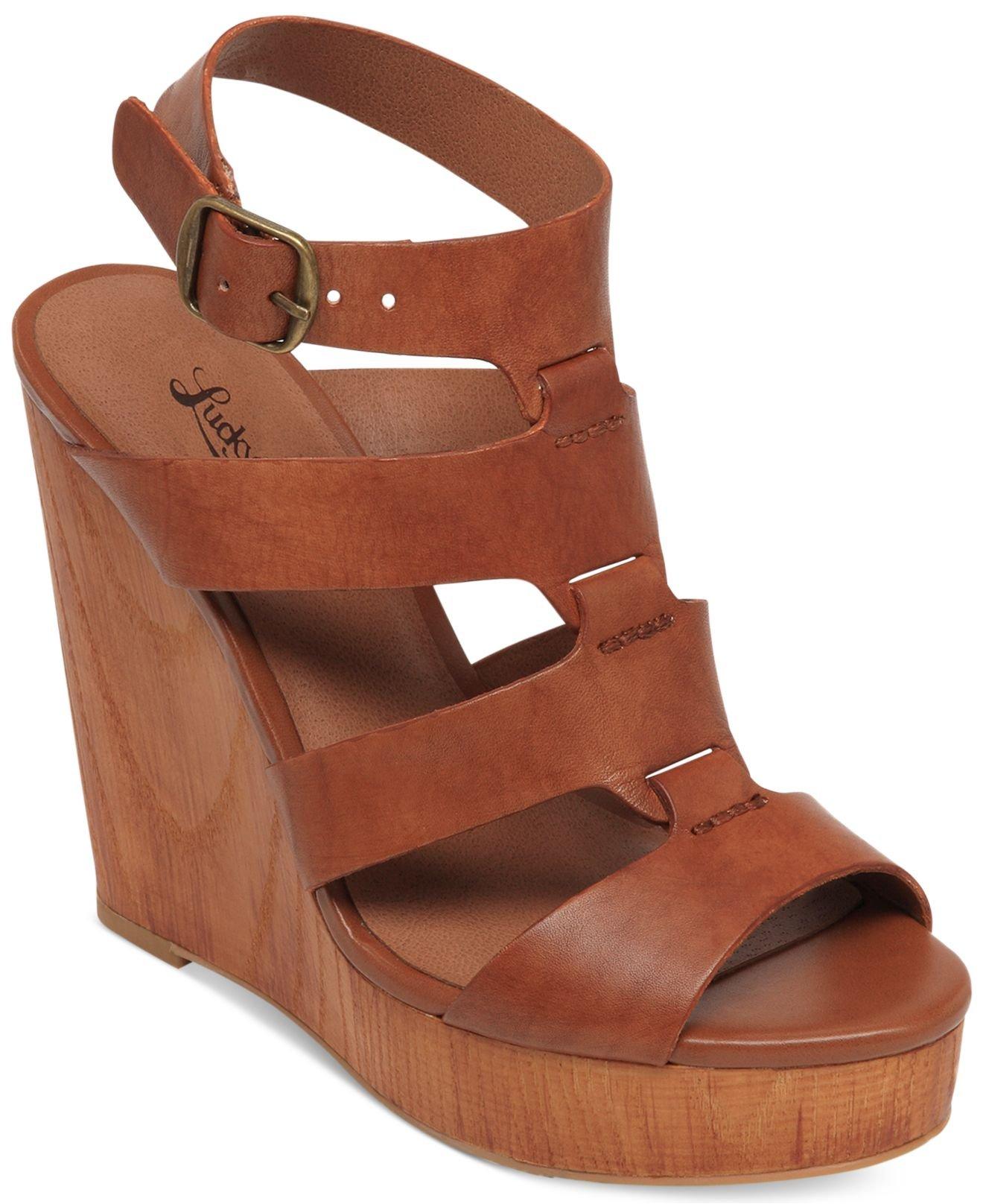 Roselyn Platform Wedge Sandals