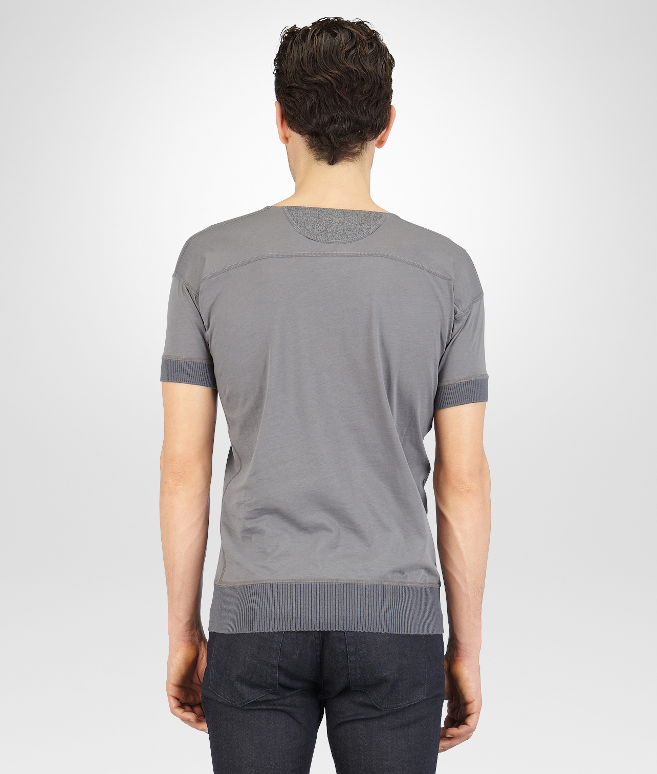 Bottega veneta new light grey organic cotton flannel for Bottega veneta t shirt