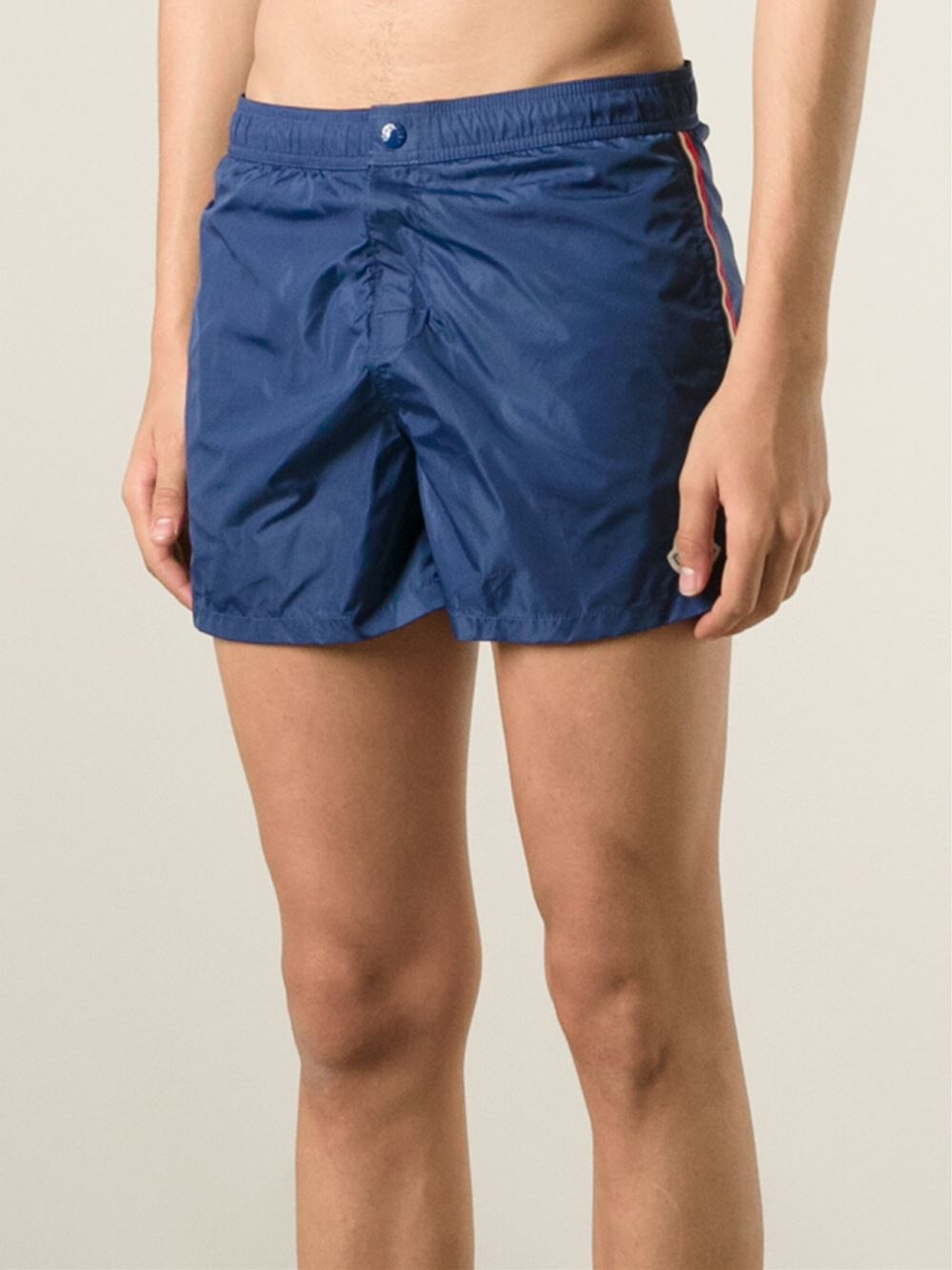 ce03618fa Moncler Blue Classic Swimming Shorts for men