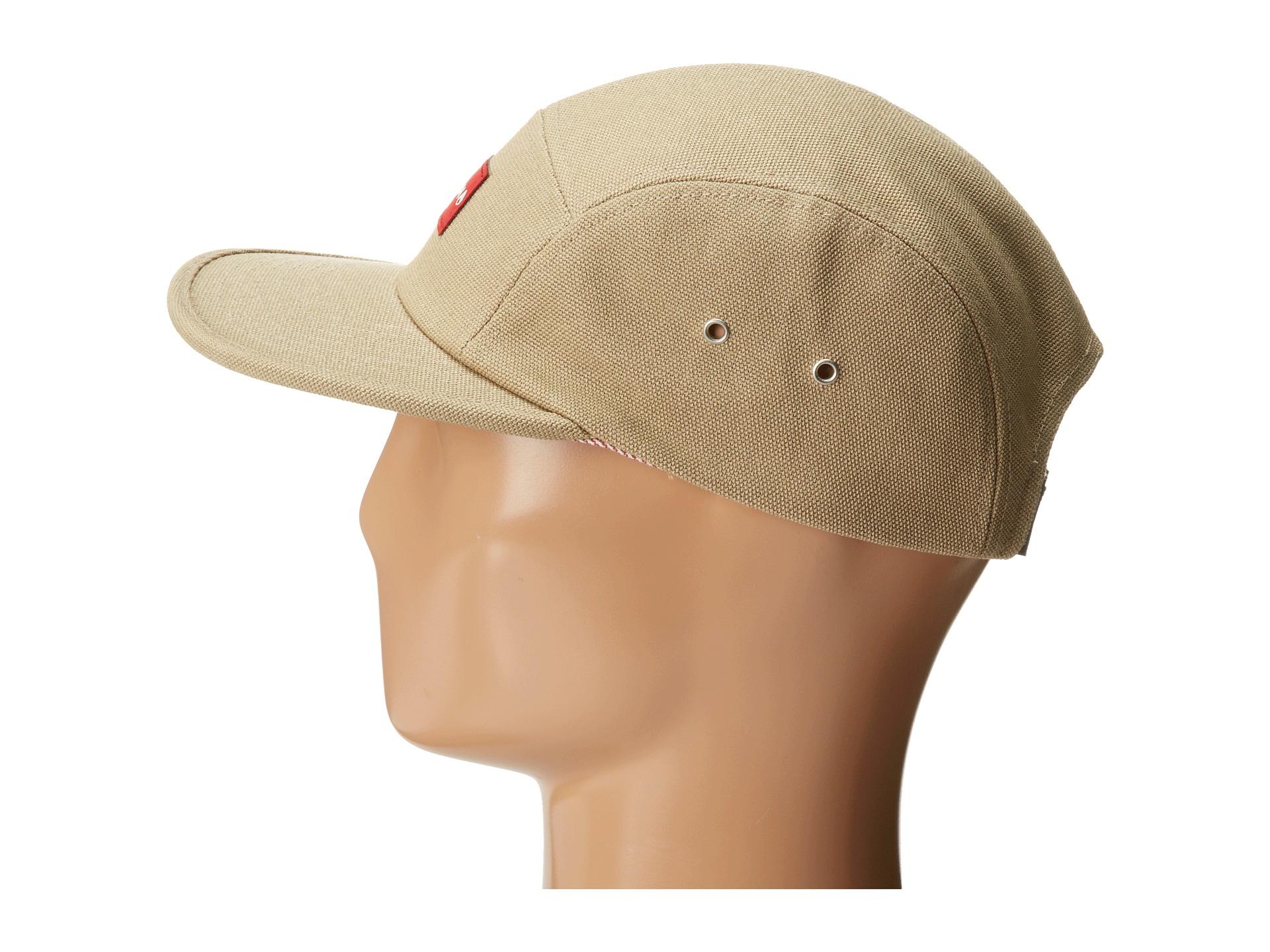 0ef5253c9c6 Lyst - Nixon Tide 5 Panel Hat in Natural for Men