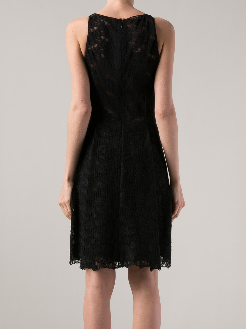 High Low Black Sleeveless Belted Lace Dress on sale only US$ now, buy cheap High Low Black Sleeveless Belted Lace Dress at bloggeri.tk