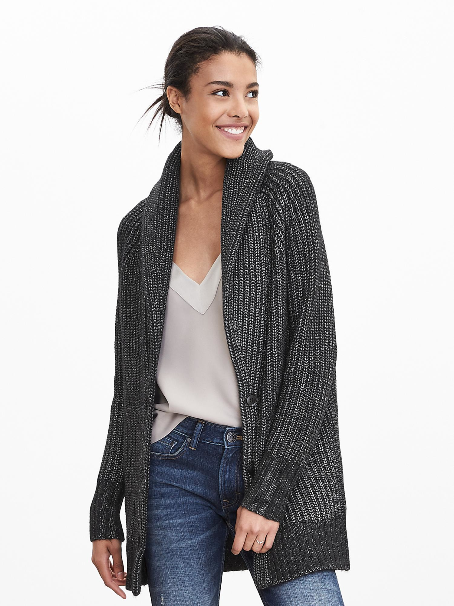 Banana Republic's always been a go-to of mine for basics, especially when I'm looking for something polished. This black cardigan has already completed two of my outfits since I received it last week and I already know it will be featured in many looks to come, especially with spring on the way.