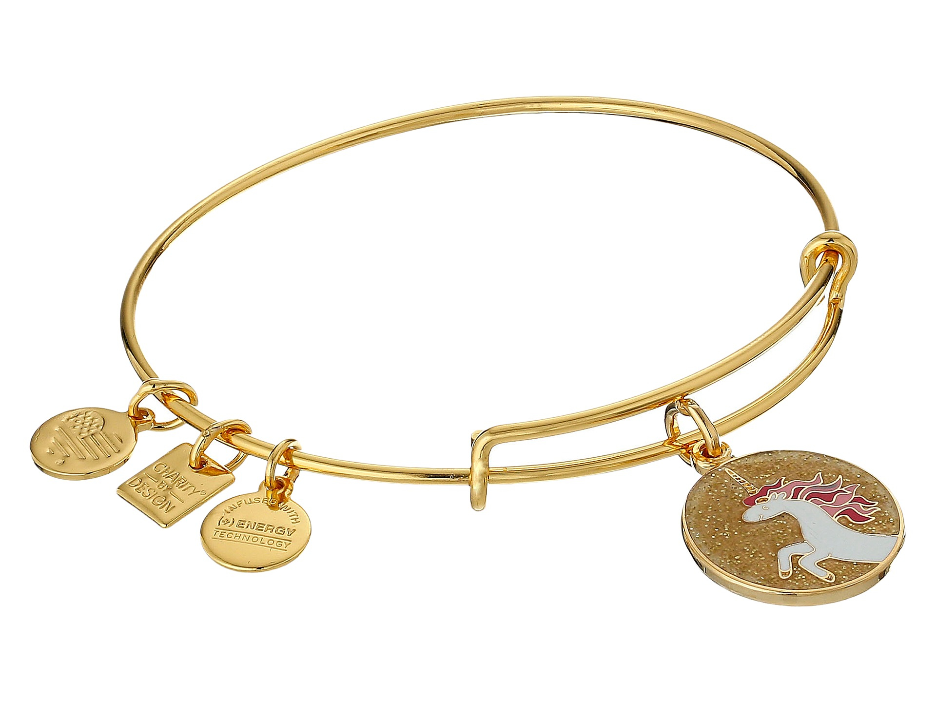 alex and ani silver unicorn bracelet
