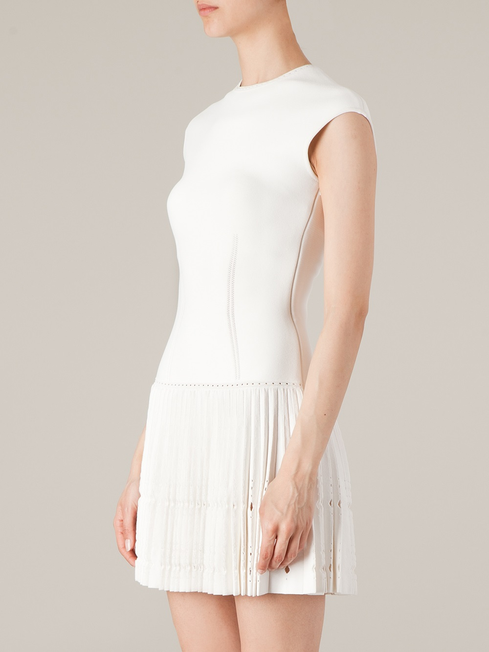 White Skirt Dress 47