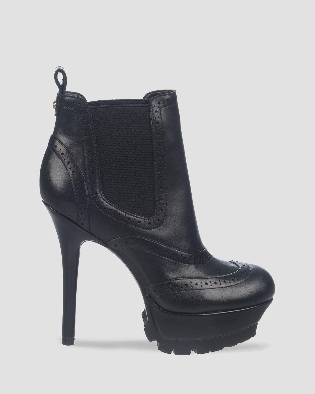 Sam edelman Platform Booties - Verina High Heel in Black | Lyst