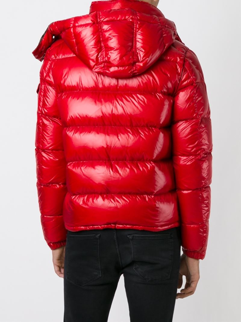 Moncler Thoule Padded Jacket In Red For Men Lyst