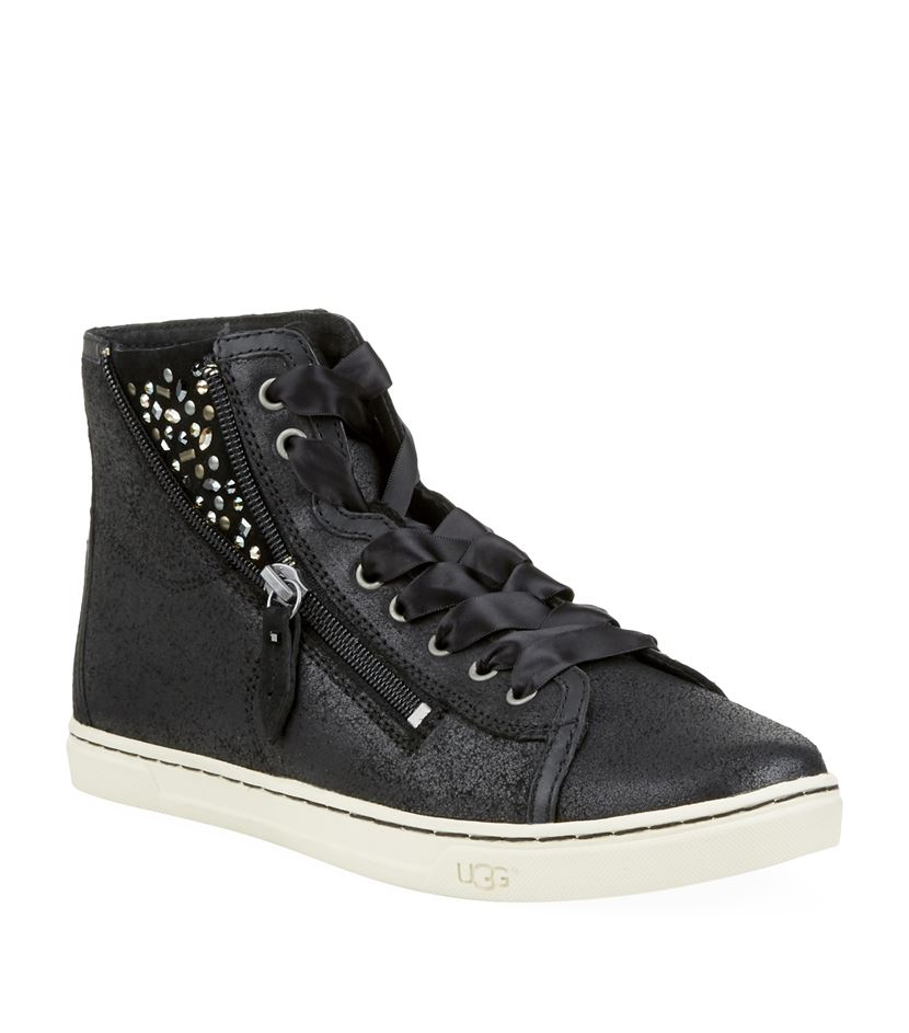 e6f1cafcd4f Ugg Blaney Crystals High-top Sneaker in Black - Lyst